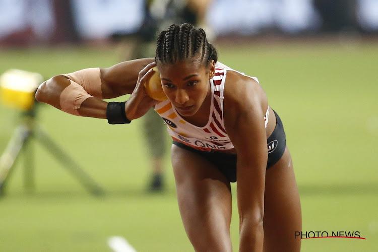 Opnieuw gouden medaille voor Nafi Thiam! Ook sterke prestatie Noor Vidts, maar net niet voldoende voor het podium