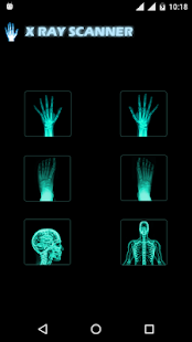 Body Scanner Simulation - náhled