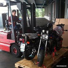 Photo: Okęcie - waga przesyłki: 450 kg