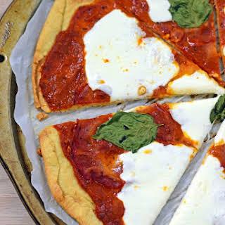 Gluten Free Pizza Crust (with almond & potato flour).