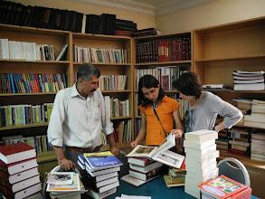 Photo: At the Kurdish Institute of Istanbul