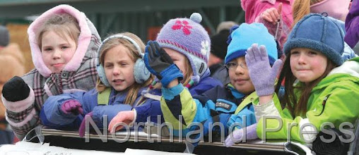 Photo: Little Miss Nisswa contestants waved to crowd during the parade -  photo by Paul Boblett