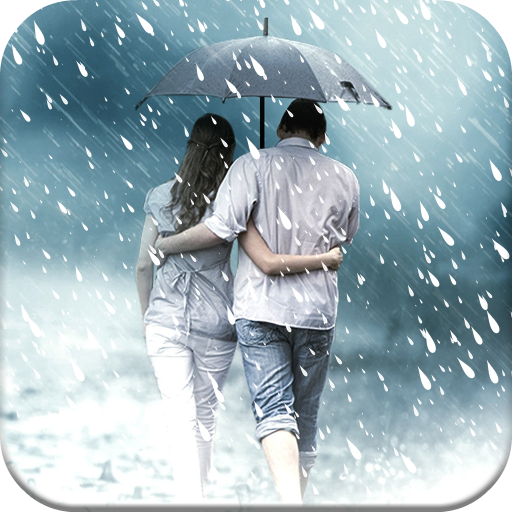 Rain Overlay: Frames for Pictures with Effects App Icon