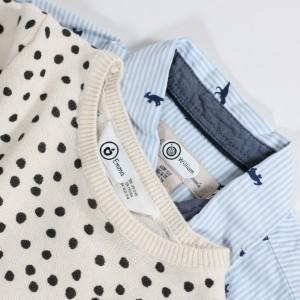 étiquettes de nom pour les vêtements
