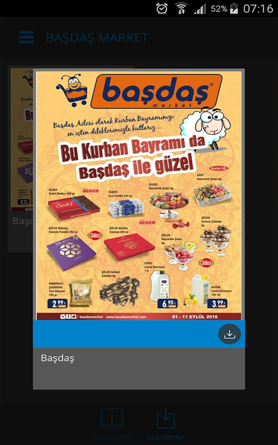 Başdaş Market- screenshot