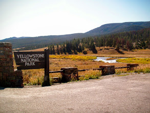 Photo: Yellowstone, West Entrance.... 90 minutes away