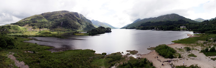 Photo: Loch Shiel from the top of the Glenfinnian Monument