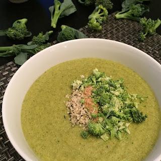 Cream of Coconut Paleo Broccoli Soup