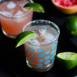 Pink Grapefruit Margarita.