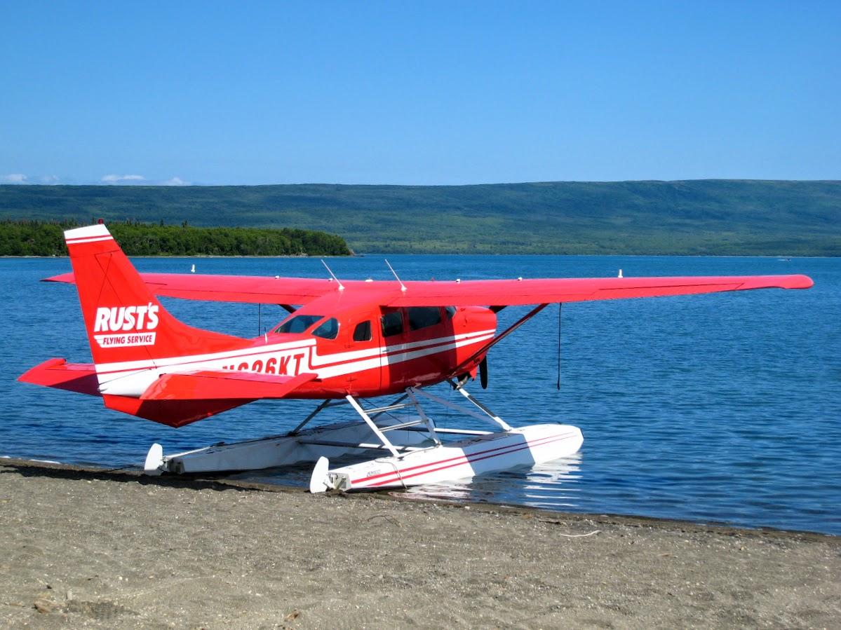 Floatplane by Naknet Lake