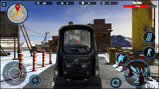 Counter FPS Critical Strike : Winter Offensive - náhled