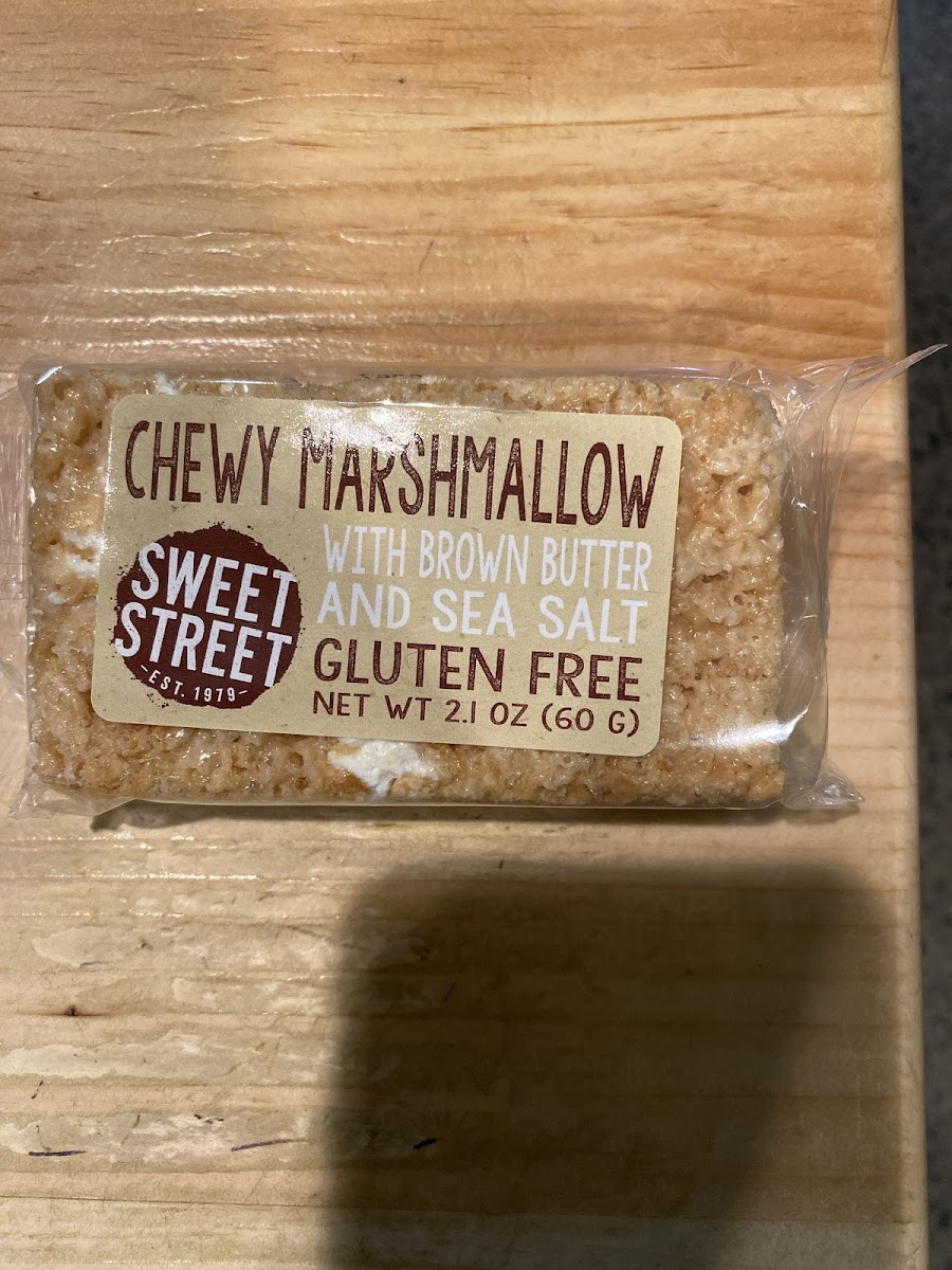 Chewy Marshmallow With Brown Butter Bar