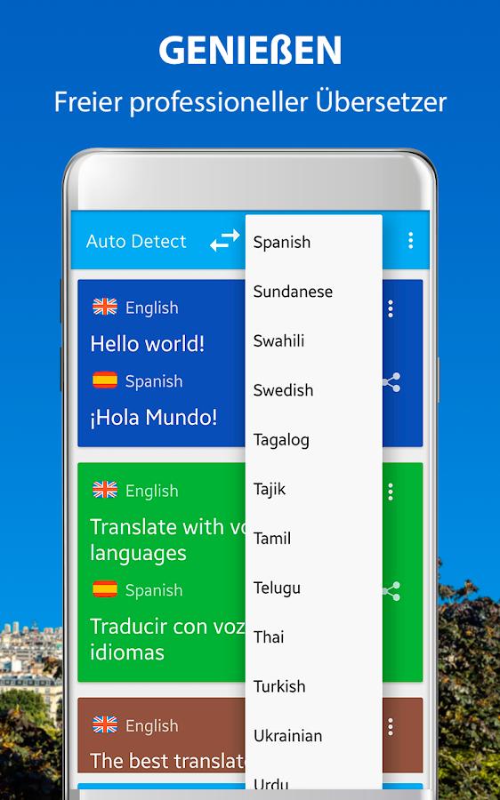Google übersetzer Stimme