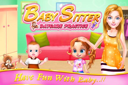 Babysitter Daycare Practice  screenshots 1