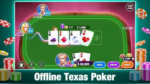 Télécharger Texas Holdem Poker Offline:Free Texas Poker Games  APK MOD (Astuce) screenshots 6