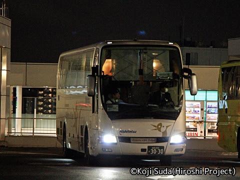 西鉄「はかた号」 0001 バスタ新宿入線_02