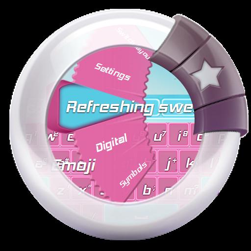 清新的糖果 GO Keyboard 個人化 LOGO-玩APPs