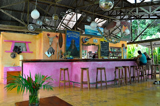 Photo: This is Buena Esperanza Bar&Restaurant. It was a starting point of our Cabo Matapalo hikes.