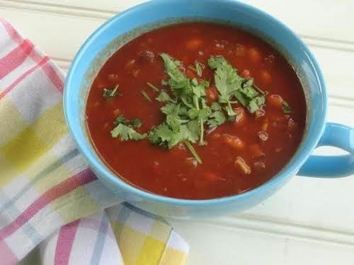 """Click Here for Recipe: Texas Style Eggplant Chili """"My family loves this..."""