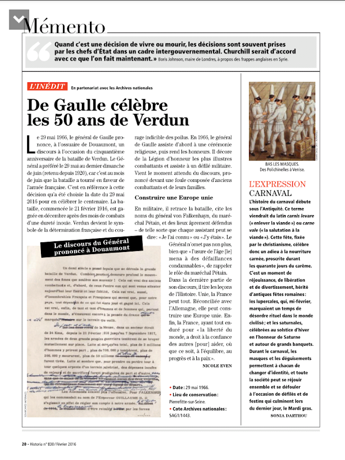 Historia Magazine- screenshot