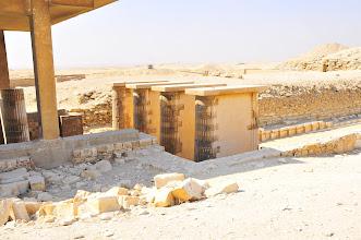Photo: Columns at Saqqara