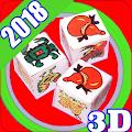 Bau cua 3D 2018