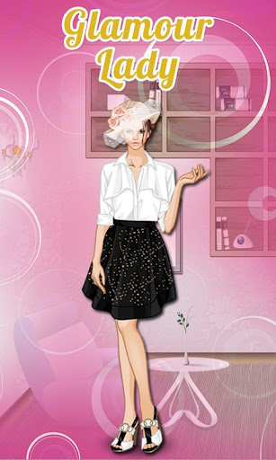 Glamour Lady: Dressup Game