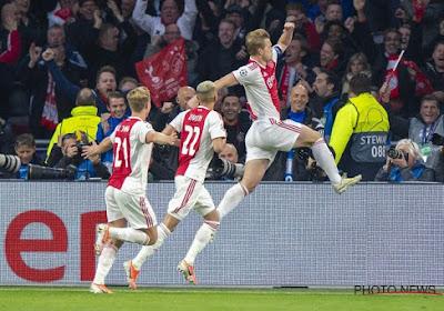 L'Ajax s'impose et s'offre son 34e titre de champion des Pays-Bas