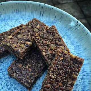 Raw Cacao Superseed & Nut Bars.