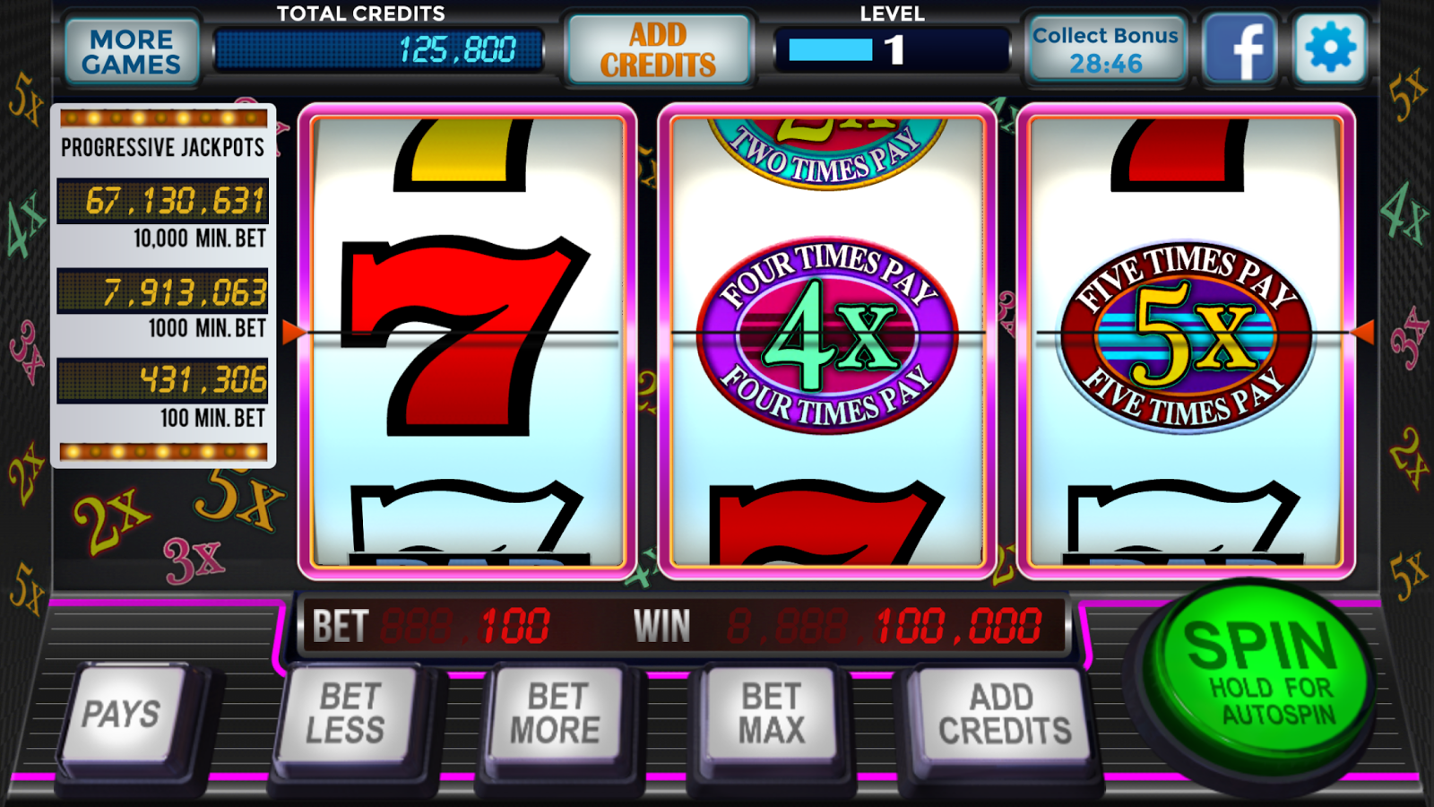 Reel Classic 3 Slot - Play Real Casino Slots Online