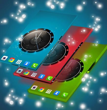 Live Wallpaper Clock for HTC 1.231.1.77 screenshot 2092423