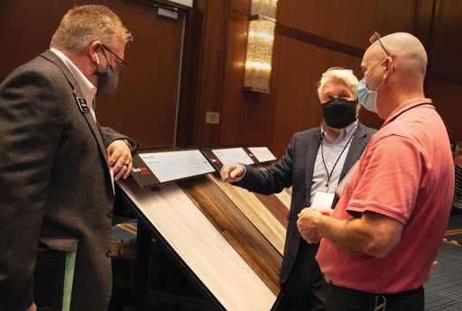 Vendors, retailers excited to be back at Surfaces