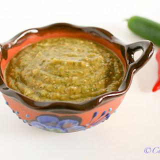 Simple Salsa Verde.