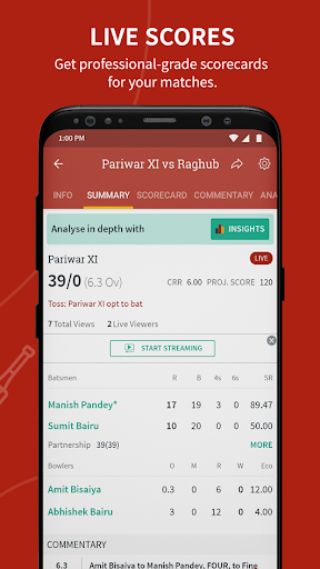 CricHeroes - World's Number 1 Cricket Scoring App Apk 2