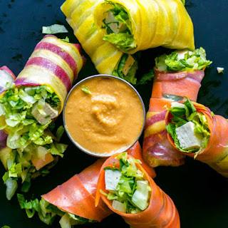 Easy Vegan Salad Rolls