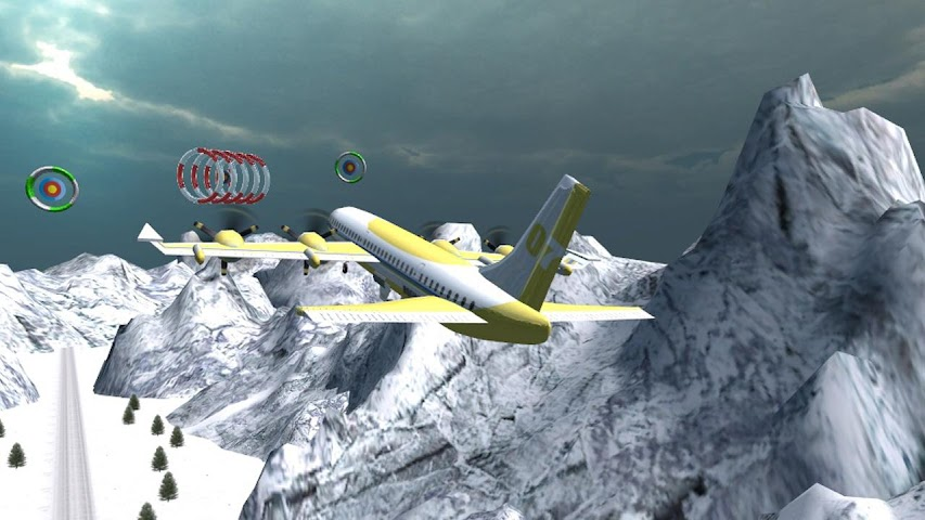 android Airplane Fly Simulator Flight Screenshot 2