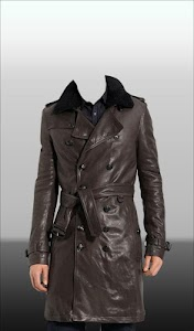 Men Leather Jacket Photo Suit screenshot 15