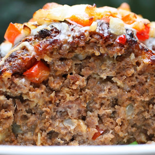 Philly Cheese Steak Meatloaf