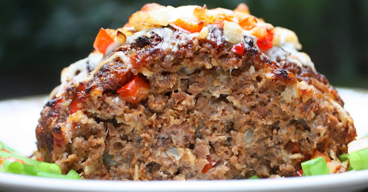 Philly Cheese Steak Meatloaf Recipe
