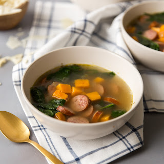 Smoked Turkey Sausage Soup Recipe