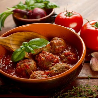 Italian Meatballs and Marinara Sauce