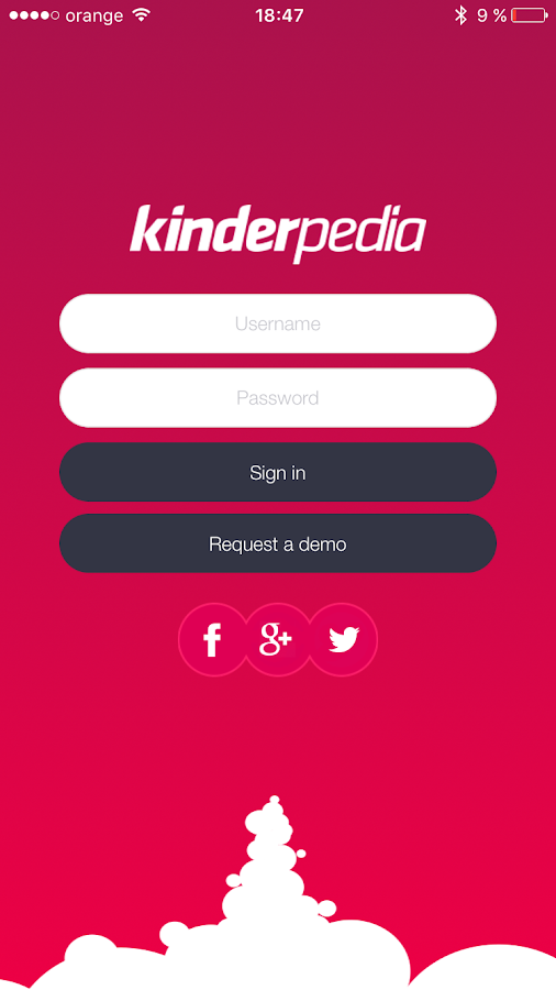 Kinderpedia- screenshot