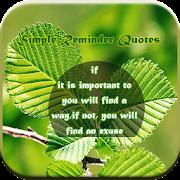 Simple Reminder Quotes