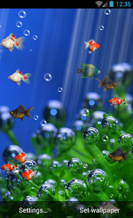Aquarium Live Wallpaper Free- screenshot thumbnail
