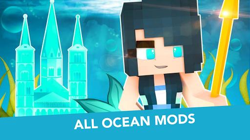 MCPE Mermaid and Tail MOD  screenshots 9