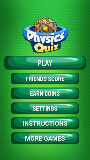 Physics Quiz Game