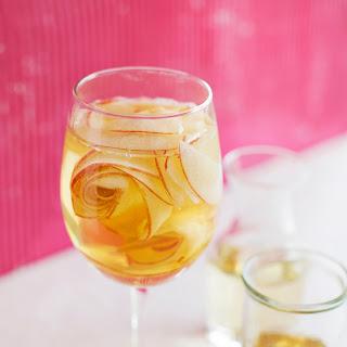 White Wine Apple Spritzer.