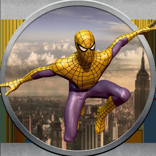 Spider Hero VS Flying Robot X Transform Battle