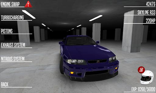 Japan Drag Racing 3D apktram screenshots 18