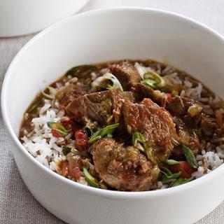 Easy Crock Pot Mediterranean Stew.